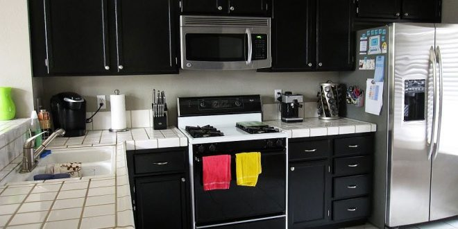 Modern Black kitchen Designs - Black kitchen Sinks