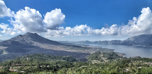Mount Batur (Kintamani)  Best Places to Visit in Bali