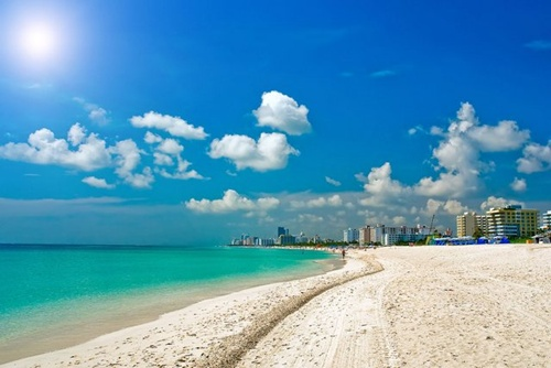 South Beach in Miami  Florida  10 most beautiful beaches in the world