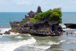 Gorgeous Places in Bali - Tanah Lot Temple, Kuta Beach and Gigit Waterfall