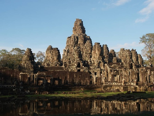 The Bayon Splendid Attractions of Angkor