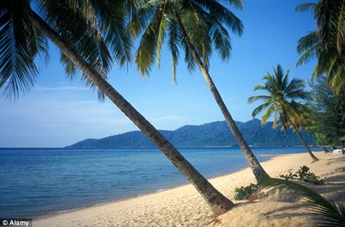 Tioman Island, Malaysia  10 most beautiful beaches in the world