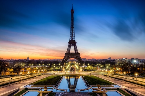 Best Winter Wedding Destinations  Paris, France
