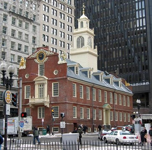Boston  Freedom Trail Historical Sites