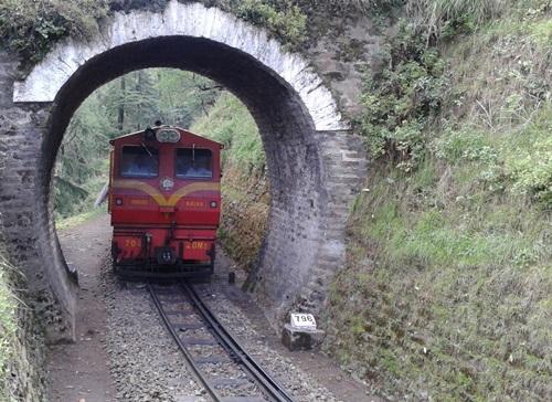 Haunted Places in India  Shimla-Kalka Railway Line