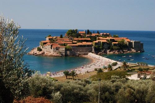 Most Amazing Beaches of the Mediterranean Sea  Sveti Stefan, Montenegro