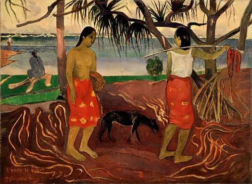 The History And Traditions Of Tahiti  Art
