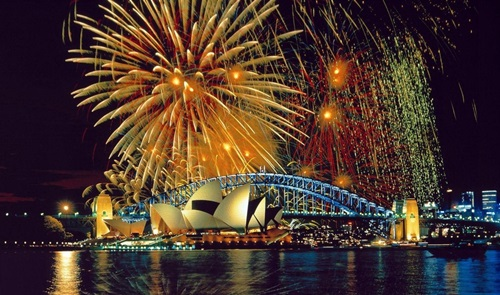 The New Year Celebrations around the World