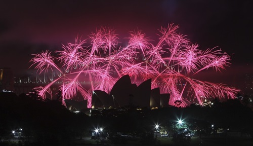 The New Year Festival in Australia