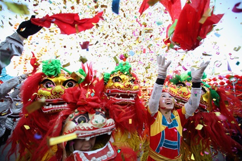 The Spring Festival in China