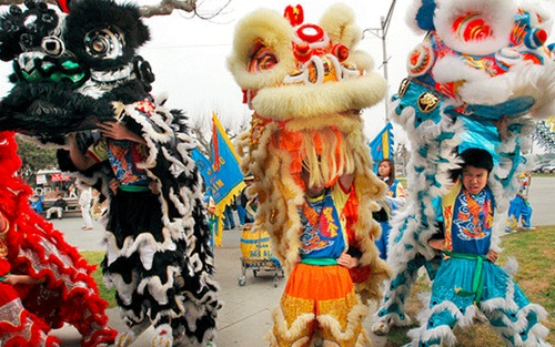 The Tet Festival in Vietnam