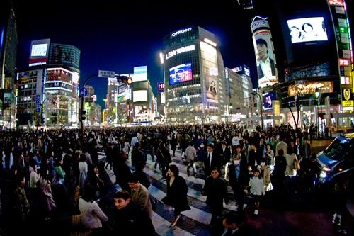 Top 6 Snapshot Spots in Japan  Shibuya Crossing in Tokyo