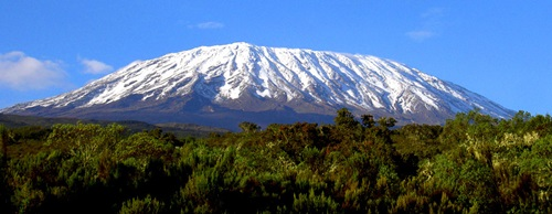 Top Beautiful Destinations in Africa  Mount Kilimanjaro – Tanzania