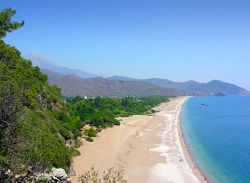 Turkey beaches  Konyaalti Beach, Antalya
