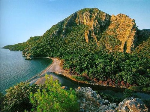 Turkey beaches   Olympos