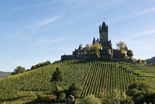 Wonderful Castles on the Mosel River