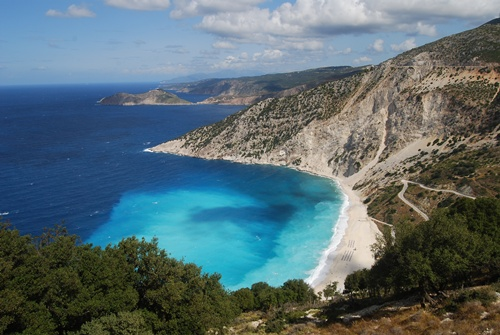 beaches in greece  Mytros, Kefalonia