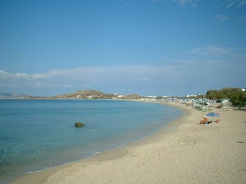 beaches in greece  Naxos