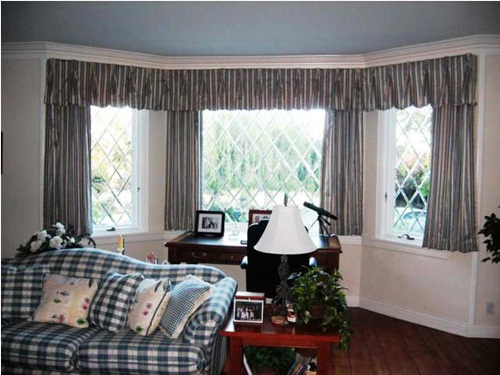 Country Curtains Designs for Different Rooms