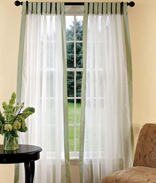 Curtains Designs for Different Rooms