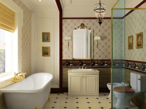 Ideal Small Bathroom Interior Designs 8