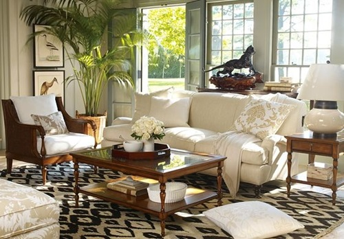 Relaxing living room interior design style - Relaxing living room decorating ideas ...