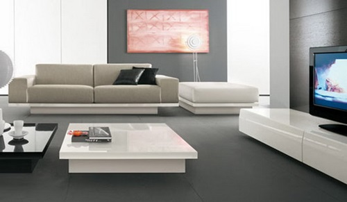 Relaxing Living Room Interior Design Style