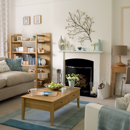 Relaxing living room interior design style - Peaceful and relaxing living room decorating ideas ...