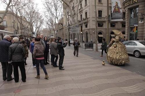Scam in Barcelona