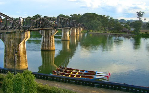 The Bridge over the River Kwai as a Tourist Attraction