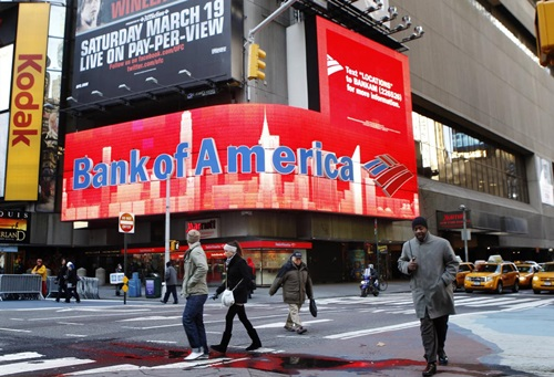 Top Five Banks in America   Bank of America
