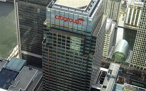 Top Five Banks in America   Citigroup