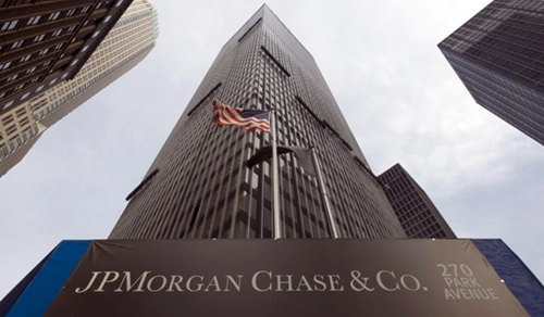 Top Five Banks in America   J P Morgan Chase