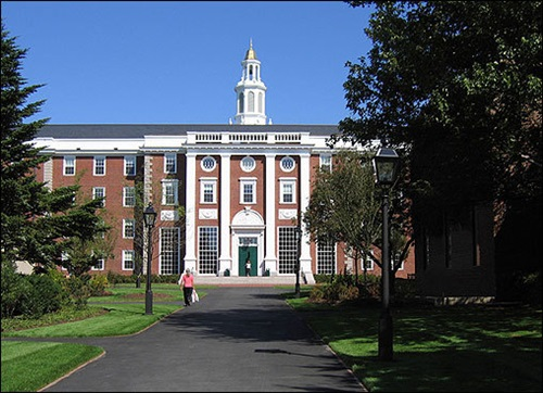 Top Five Leading Universities in the US Harvard University