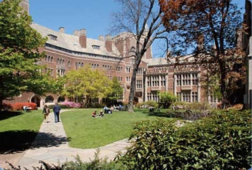 Top Five Leading Universities in the US Yale University