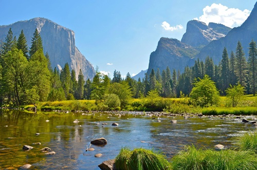 Top Five Must-Visit Destinations in America  Yosemite National Park, California