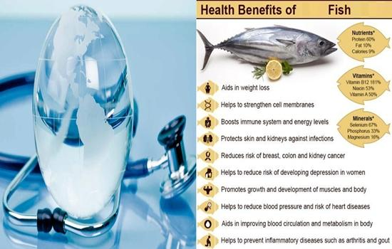 Top Ten Health Benefits Of Fish