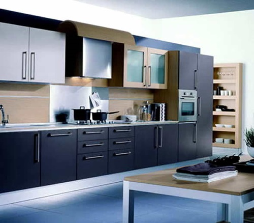 Wonderful modern kitchen interior design - Modern house interior design kitchen ...