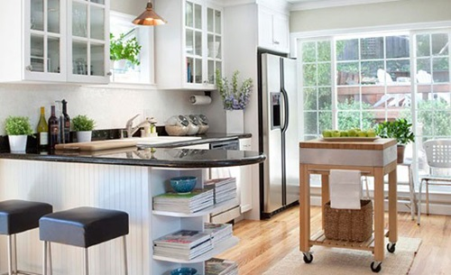 6 Creative Ways to Decorate Your Small kitchen