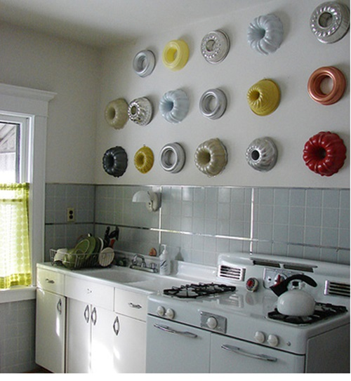 creative ideas to decorate your kitchen wall