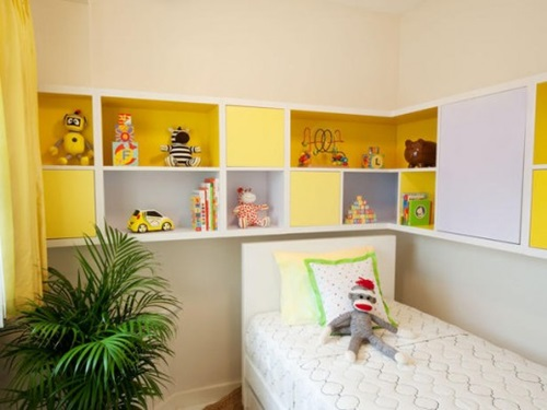 Creative Kids Bedroom Storage Solutions
