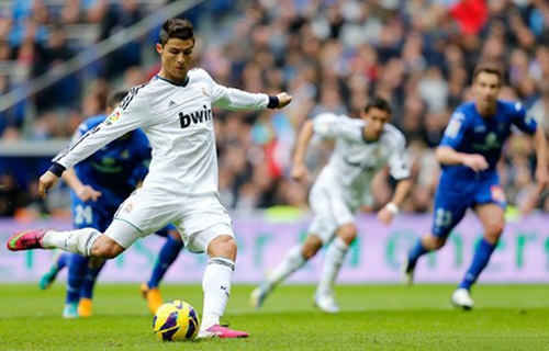 Cristiano Ronaldo Top Ten Best Goals Of 13-14 Season