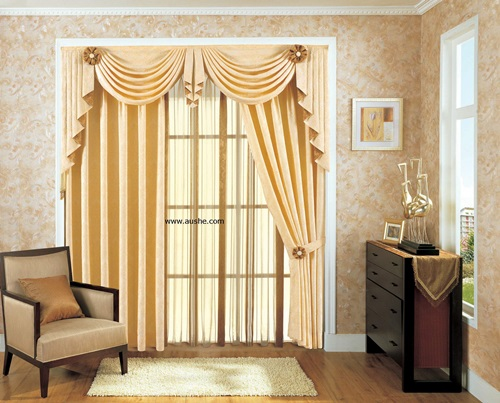 Curtains accessories and tiebacks can make a huge difference