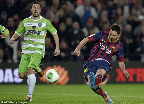 Lionel Messi Top Ten Best Goals For Season 13-14