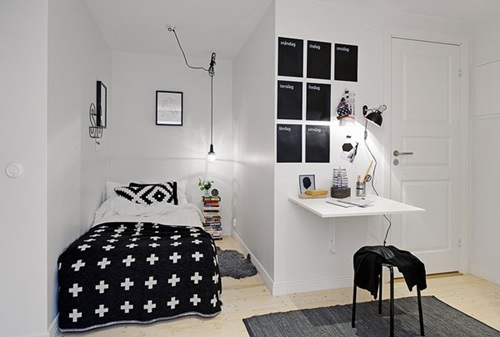 SMART IDEAS TO TRANSFERE SMALL BEDROOM TO LOOK MORE BIGGER