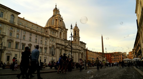 Self-guided Walking Tour of Rome