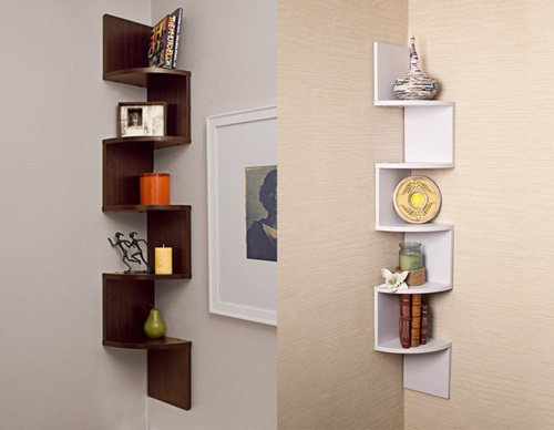 Wall Shelves Decor wall shelving ideas – glass, wood and crystal shelves