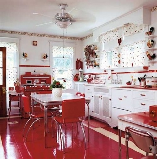 Awesome Wonderful Kitchen Decorating Ideas With Apple Theme