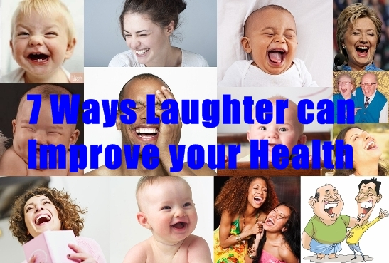 7 Ways Laughter can Improve your Health