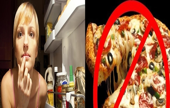 Ten Foods You Shouldn't Eat Before Going To Bed